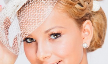 Esküvői frizurák: variációk 1 frizurára