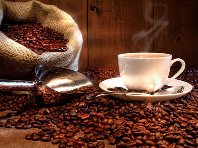 92881 kávés csendélet