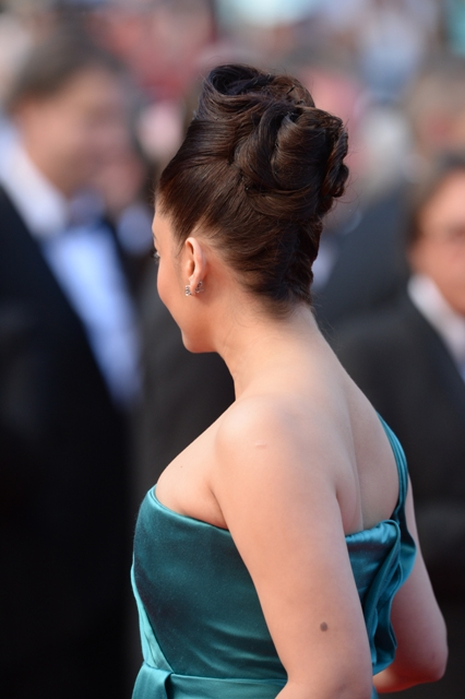 attends the 'Cleopatra' premiere during The 66th Annual Cannes Film Festival at The 60th Anniversary Theatre on May 21, 2013 in Cannes, France.