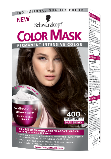 magazinba barna Schwarzkopf Color mask 400