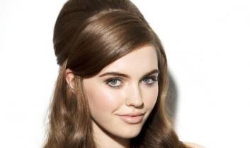Őszi kreatív frizurák – bohém tupír