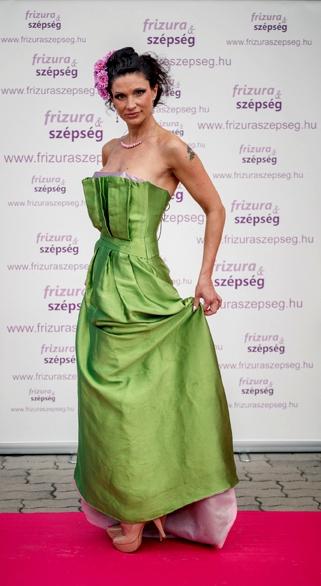 Camilla zöld ruha egész aIMG_5810-872