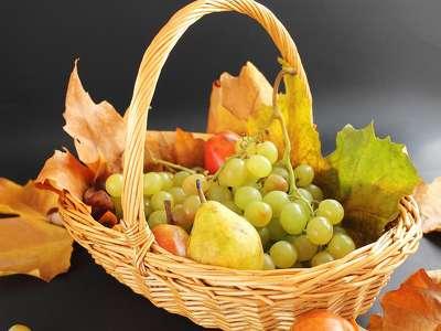 őszi gyümölcskosár 198609