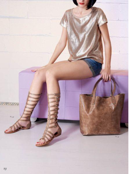 Tavaszi nyári cipő és táskatrend 2015 Frizura