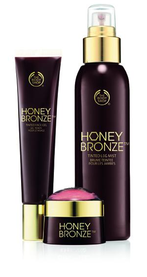 Honey Bronze 2015 range