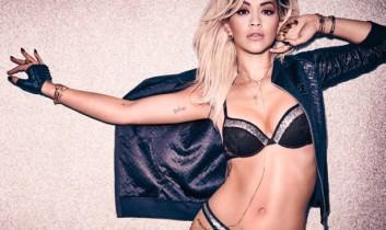 Rita Ora énekesnő, a Tezenis márka nagykövete