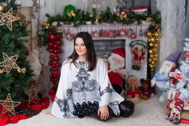 Karácsonyi fotózás a szerettünkkel! Frizura