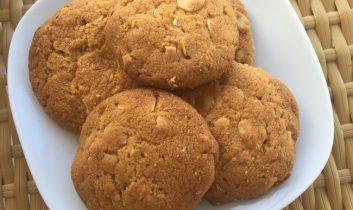Szerkesztőségi kedvenc: fehércsokoládés mandulás kekszrecept