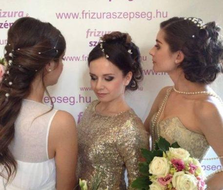 Esküvői Divathajó a Dunán a Frizura & Szépség magazinnal!