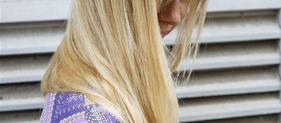 Gyönyörű egészséges haj vitaminpótlással