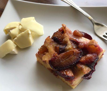 Gyors szilvás süti Gretas Kitchen módra