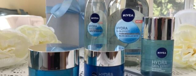Hidratált és ragyogó arcbőr a NIVEA Hydra Skin Effect termékcsaláddal